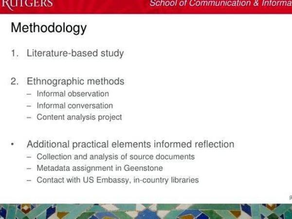 Literature based dissertation methodology help The proposed outcome of this