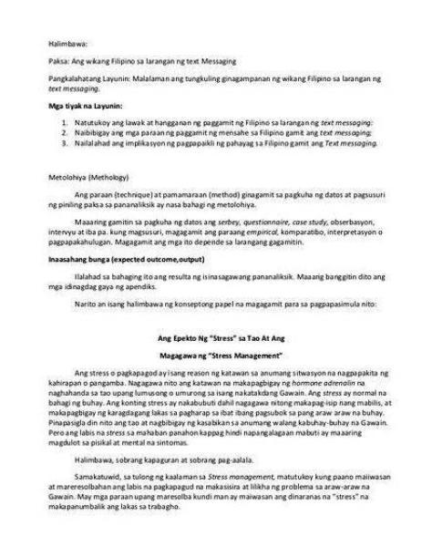 Paraan ng pananaliksik thesis proposal ng basic data lalo na
