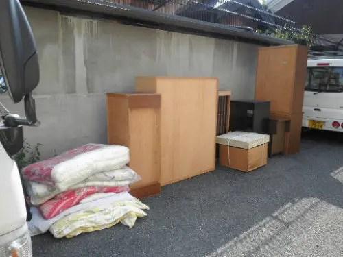 古くなった家財道具一式の回収・処分サービス トリプルエス 生駒市