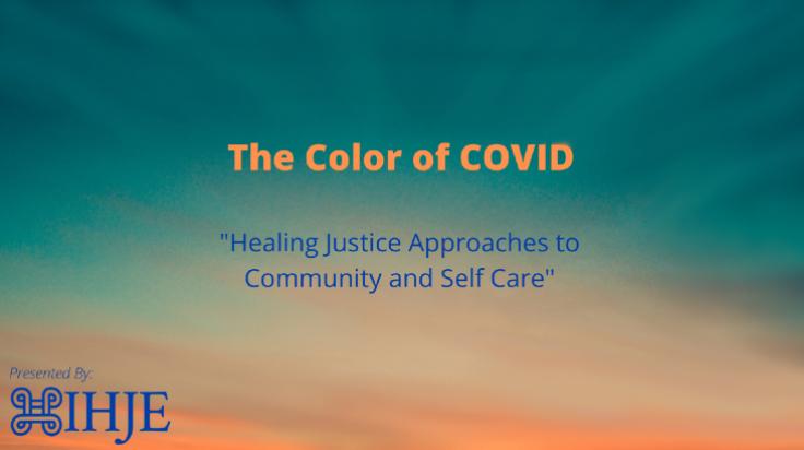 color of covid self care thumbnail