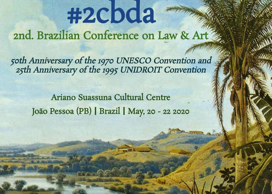 Brazilian Coference on Law & Art