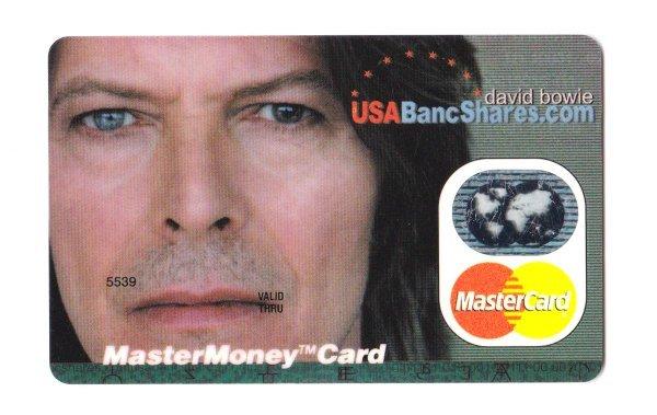 Tarjeta de Crédito ofrecida por MasterCard para BowieNet
