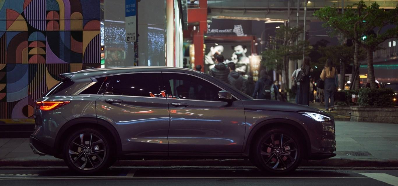 INFINITI QX50, SUV con aerodinámica de alto nivel