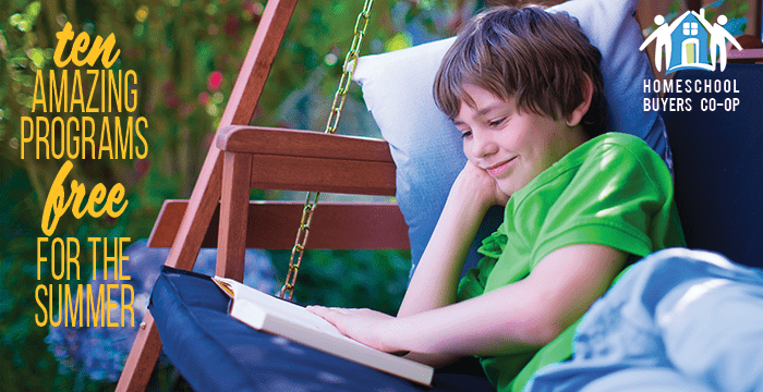 10 Amazing Free Learning Programs for the Summer from Homeschool Buyers Co-op