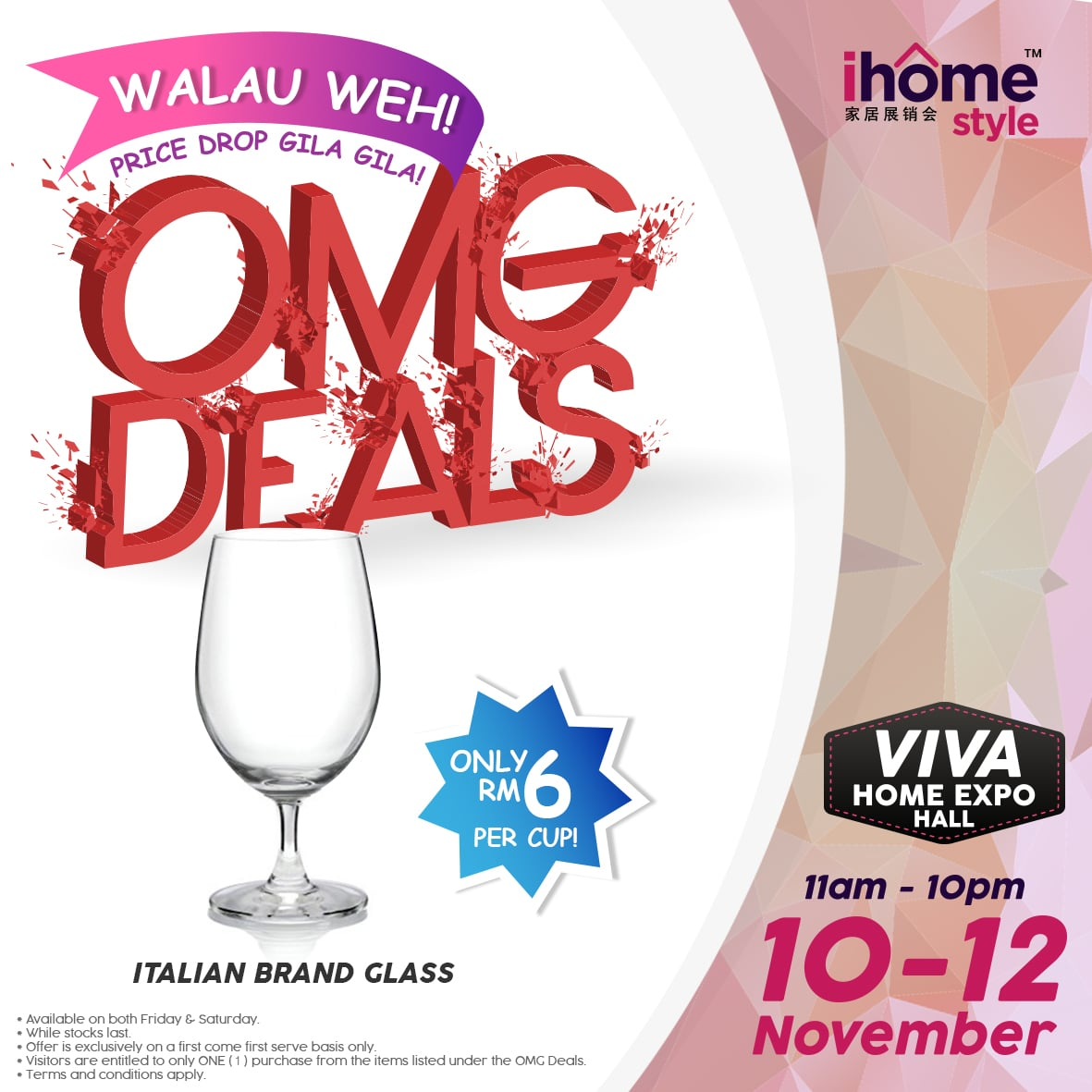 I home style fair discount deal italianbrandglass i home for Style at home subscription deal