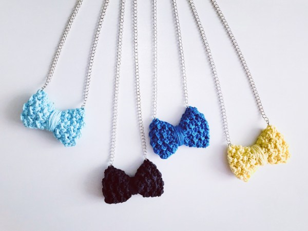 The Beta Bow Necklace