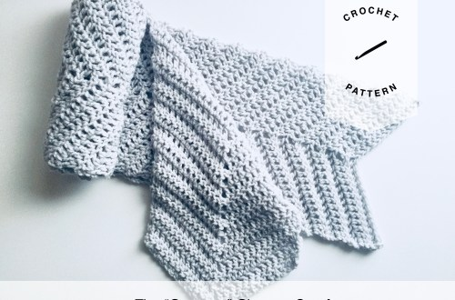 The Gateway Chevron Scarf Free Crochet Pattern
