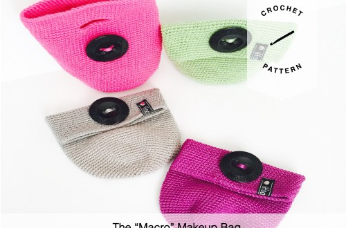 The Macro Makeup Bag Free Crochet Pattern