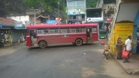 Zee red (SLTB) bus