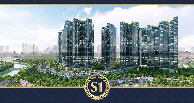 Căn hộ điển hình Sunshine City Sài Gòn (Tòa S1)