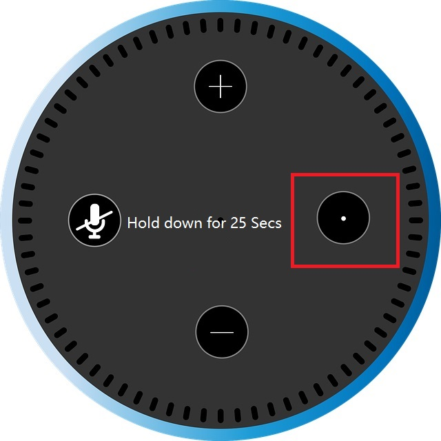 How to factory reset a third generation Echo