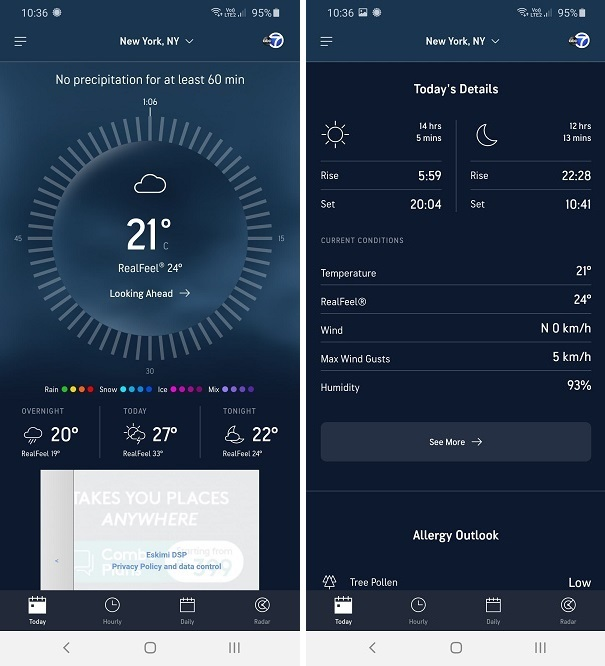 Best Weather Apps for Android - accuweather