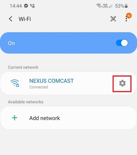how to share wifi password from iphone to android without password