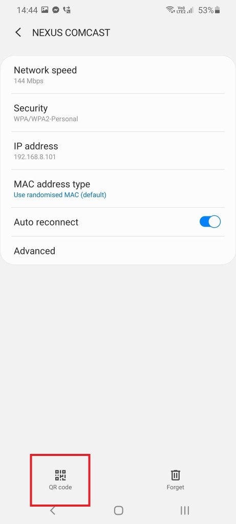 how to transfer wifi password from android to iphone