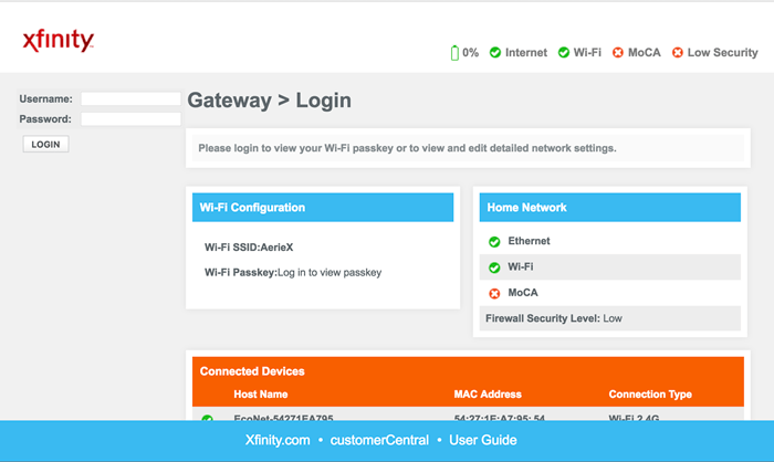 How to Login to Xfinity Router?