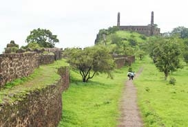 Asigarh Fort Burhanpur, India