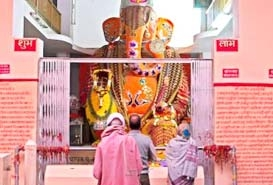 Bada Ganapati Indore in India