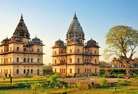 Chhatris of Orchha Madhya Pradesh,