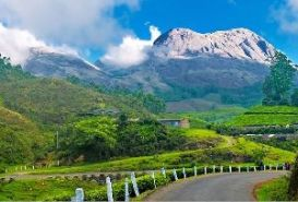 Munnar Hill Station, Kerala in India