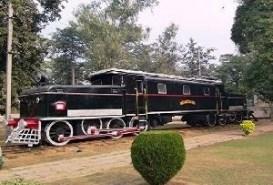 Railway Museum in Delhi, India