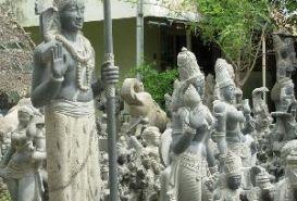 Sculpture Museum, Mahabalipuram