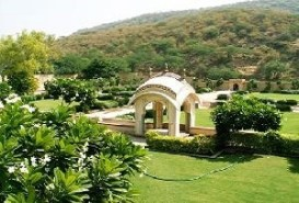 Sisodia Rani ka Bagh garden in Jaipur