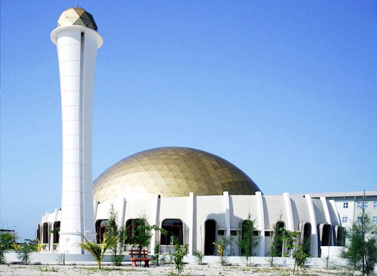 Hulhumale Mosque, Maldives
