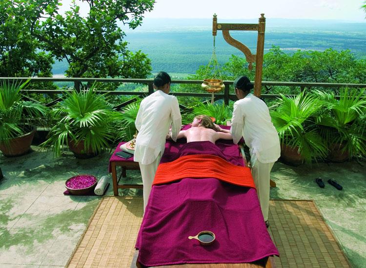Spa at Andanda in Himalayas