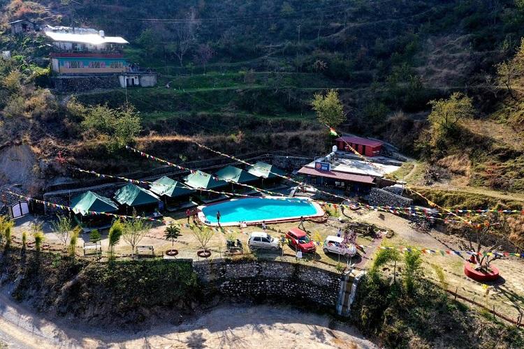 Mussoorie Camp Resort (296.7 km from Delhi)
