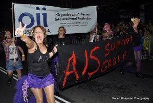 Team intersex - 2014 Mardi Gras, photo by Robert Knapman