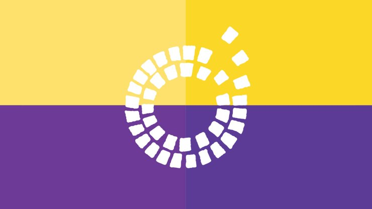 Darlington Consortium logo on a purple and gold background