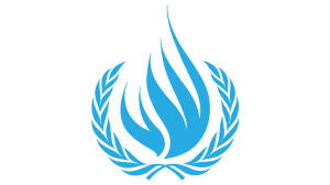 The symbol of the Office of the High Commissioner for Human Rights