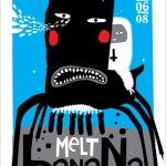276 Melt-Banana - Tour Dates + Posters