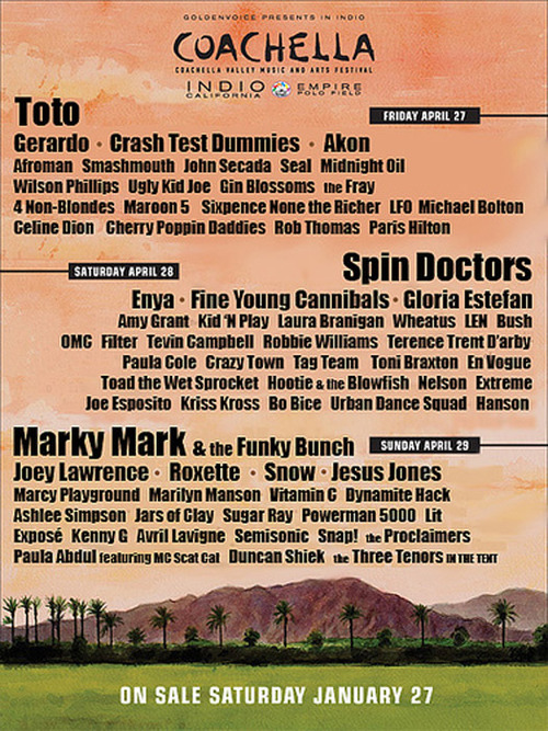 69558 Coachella - 2010 Line-Up