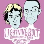 Lightning-Bolt-Tour-Poster On Tour + Posters - Lightning Bolt