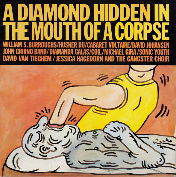 Diamond Hidden in the Mouth of a Corpse - Compilation Front Cover-Artwork