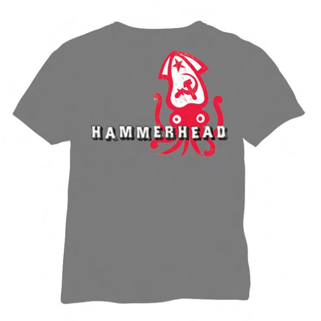 hammerhead_tee New Stuff From AmRep – Melvins Box Set, Hammerhead Exhibit, Posters & More!