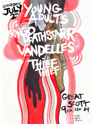 Young-Adults-Ringo-Deathstarr-Vandelles-Thief-Thief-at-Great-Scott Show Review - Thief Thief / Vandelles / Ringo Deathstarr and Young Adults at Great Scott
