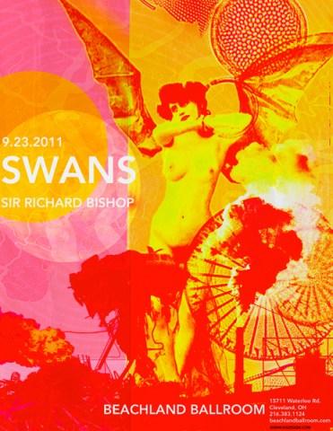 Swans-+-Sir-Richard-Bishop-Potser Show Review - Sir Richard Bishop + Wovenhand + Swans at Royale Boston (09.29,11)