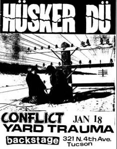 Husker-Du-+-Conflict-+-Yard-Trauma-1983-Poster