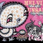 Melvins-Unsane-Tour-Poster-by-Junko-Mizuno Unsane Special - Part 5 - Unsane/Melvins 2012 Tour Diary