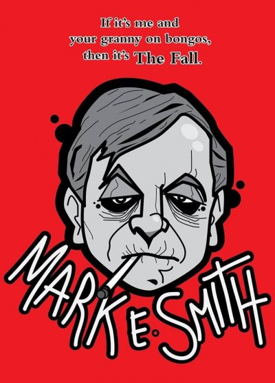 Mark E Smith Poster by Stanley Chow