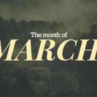 Blog Summary: March 2019 - Pt. 1