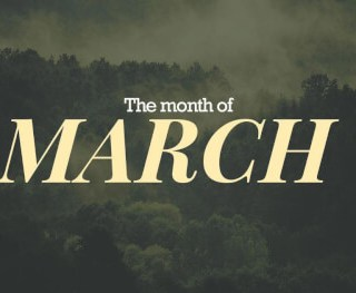 The-Month-of-March Homepage