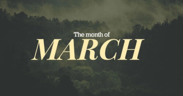 The-Month-of-March-1024x538 Blog Summary - March 2019: Pt. 3