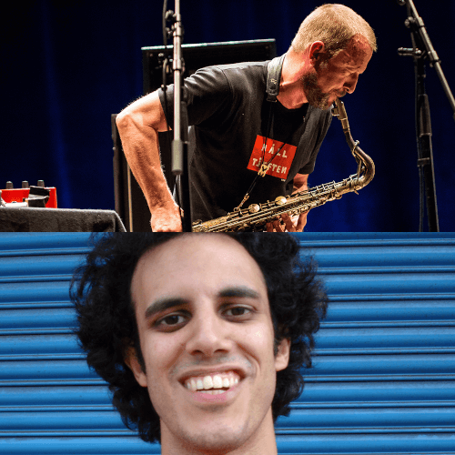 Kieran-Hebden-Four-Tet-Mats-Gustafsson Things We Saw / Things We Missed @ Big Ears 2018 - Four Tet / The Thing