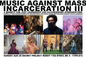 Music-Against-Mass-Incarceration-Poster Music Against Mass Incarceration - Poster