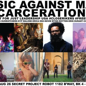Music Against Mass Incarceration - Poster