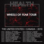 Health Wheels of Fear Tour Poster