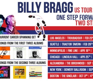 Billy Bragg US Tour 2019 Poster